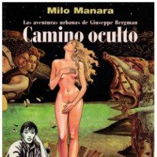 Cómics: CAMINO OCULTO - MANARA COLOR Nº 11- IMPECABLE. Lote 153131290