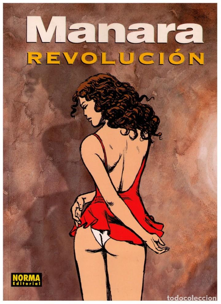 REVOLUCION - MANARA COLOR Nº 17 - IMPECABLE (Tebeos y Comics - Norma - Comic Europeo)