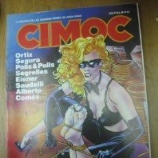 Cómics: CIMOC Nº 84 ORTIZ ,SEGURA, SEGRELLES, EISNER.....NORMA EDITORIAL. . Lote 153212302