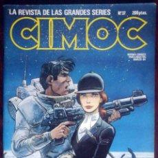 Cómics: CIMOC Nº 37 (JORDI BERNET, A. SEGURA, DIDIER COMÉS, THA...). Lote 153507694