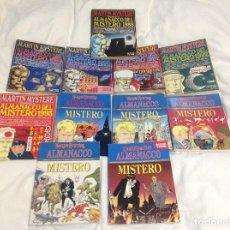 Cómics: MARTIN MYSTERE 12 ALMANAQUES ANTIGUOS Y DESCATALOGADOS.EN ITALIANO.. Lote 153722902