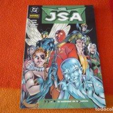 Cómics: JSA 4 LA SOCIEDAD DE LA INJUSTICIA ( GOYER GEOFF JOHNS ) ¡MUY BUEN ESTADO! NORMA DC. Lote 153760230