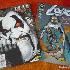 Cómics: LOBO NºS 15 Y 16 ( ALAN GRANT ) ¡BUEN ESTADO! DC NORMA. Lote 176965723