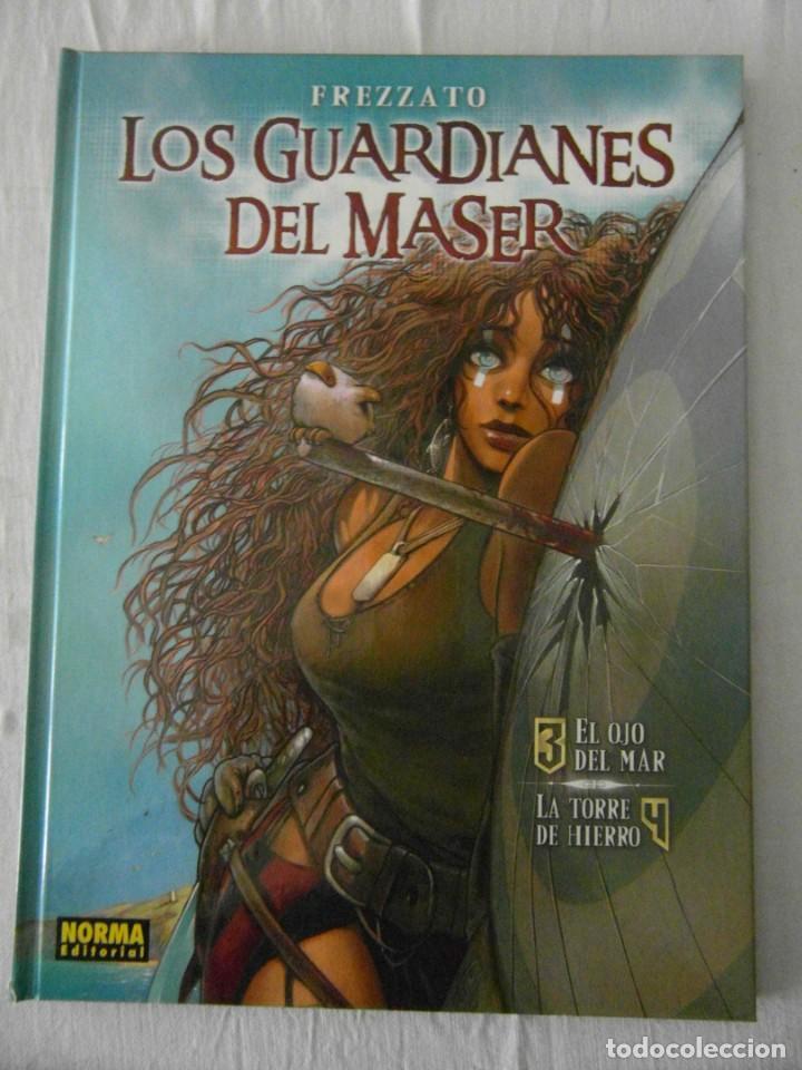 NUEVO. LOS GUARDIANES DEL MASER VOL. 2 : 3. EL OJO DEL MAR 4. LA TORRE DE HIERRO (Tebeos y Comics - Norma - Comic Europeo)