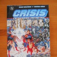 Comics - CRISIS EN TIERRAS INFINITAS - MARV WOLFMAN Y GEORGE PEREZ - DC - NORMA - TAPA DURA (8A) - 153923778