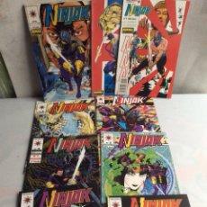 Comics: NINJAK /POR: MARK MORETTI , COLECCION COMPLETA 9 EJEMPLARES. Lote 33442982