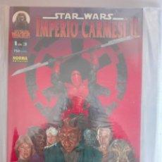 Cómics: STAR WARS IMPERIO CARMESÍ II COMPLETA#. Lote 154152990