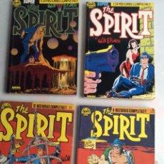 Cómics: THE SPIRIT - LOTE DE 4 TOMOS RECOPILATORIOS CON LOS Nº 1 AL 20 - EDITA : NORMA. Lote 154478862