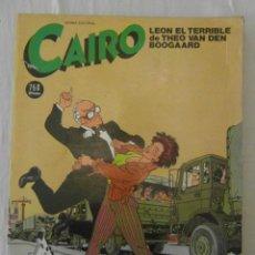 Cómics: CAIRO ANTOLOGIA 15. LEON EL TERRIBLE DE THEO VAN DEN BOOGAARD. Nº 46, 47, 48. Lote 154514546