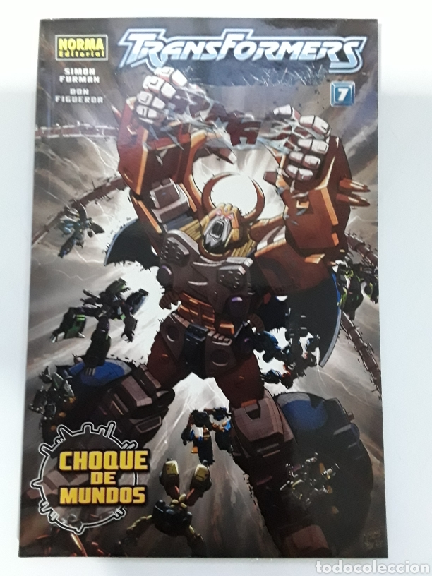 TRANSFORMERS - CHOQUE DE MUNDOS - VOL 7 (Tebeos y Comics - Norma - Comic Europeo)