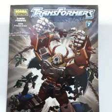 Cómics: TRANSFORMERS - CHOQUE DE MUNDOS - VOL 7. Lote 154549552