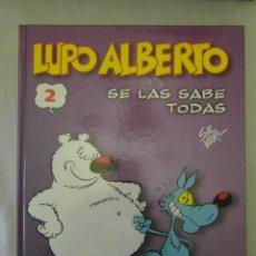 Fumetti: LUPO ALBERTO 2. SE LAS SABE TODAS. NORMA. Lote 154726338
