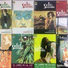 Comics - La casa de los secretos COMPLETA 8 TOMOS - 154753298