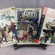 Comics: AL FILO DEL INVIERNO COMPLETA 3 TOMOS. Lote 210616812