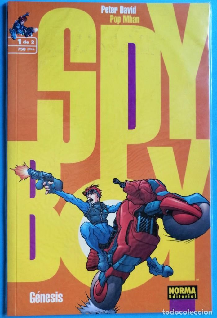 Cómics: SPY BOY. MINI SERIE DE 2 NUMEROS. COMPLETA.- NORMA EDITOR ''MUY BUEN ESTADO'' (VER 4 FOTOS) - Foto 3 - 154791418