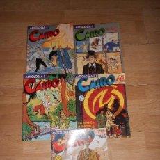 Cómics: CAIRO / ANTOLOGIA - LOTE DE 5 NUMEROS / DEL 1 AL 5. Lote 154848046