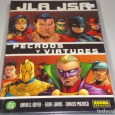 Cómics: JLA JSA PECADOS Y VIRTUDES . Lote 154851394