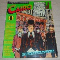 Cómics: COMIC CAIRO Nº 8 SEPTIEMBRE 1982 EDITORIAL NORMA EL ADIOS BRINDAVOINE DE JARDI. Lote 154935978