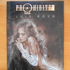 Cómics: PROHIBITED BOOK - LUIS ROYO - NORMA - TAPA DURA (9N). Lote 154936214