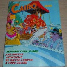 Cómics: COMIC ANTOLOGÍA 12 CAIRO NUMEROS 37 38 39 EDITORIAL NORMA 1985 ZENTNER Y PELLEJERO. Lote 154945062