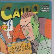 Cómics: CAIRO-AÑO 1982-NORMA-B/N-COLOR-FORMATO GRAPA-Nº 22. Lote 155082970