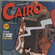 Cómics: CAIRO-AÑO 1982-NORMA-B/N-COLOR-FORMATO GRAPA-Nº 29. Lote 155083514