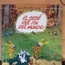 Cómics: MARSUPILAMI 2. EL BEBÉ DEL FIN DEL MUNDO. FRANQUIN. BATEM. GREG. NORMA. Lote 155150597