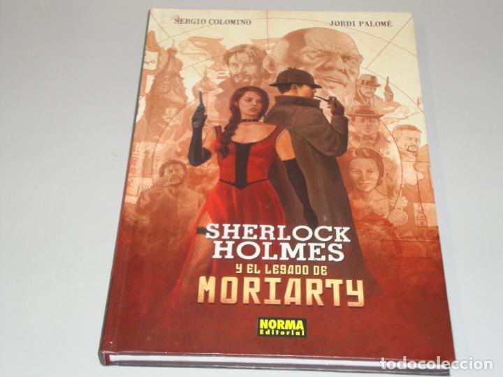 RESERVADO SHERLOCK HOLMES Y EL LEGADO DE MORIARTY (Comics und Tebeos - Norma - Comics Europa)