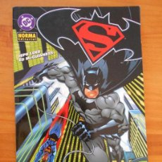 Cómics: SUPERMAN / BATMAN - ENEMIGOS PUBLICOS - DC - NORMA (FG). Lote 155594282
