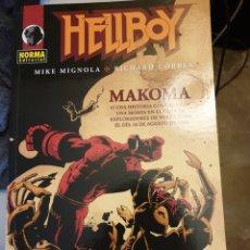 Cómics: HELLBOY: MAKOMA. DE MIGNOLA Y RICHARD CORBEN. Lote 155648796