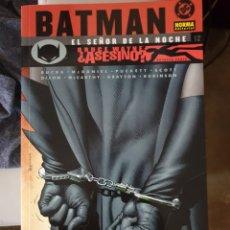 Cómics: BATMAN: EL SEÑOR DE LA NOCHE (2002-2004). Lote 155655066