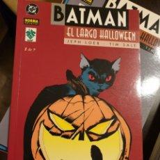 Cómics: BATMAN: EL LARGO HALLOWEEN. Lote 155659482
