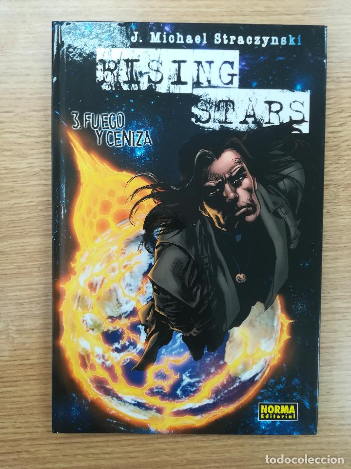 RISING STARS #3 FUEGO Y CENIZA (Tebeos y Comics - Norma - Comic USA)