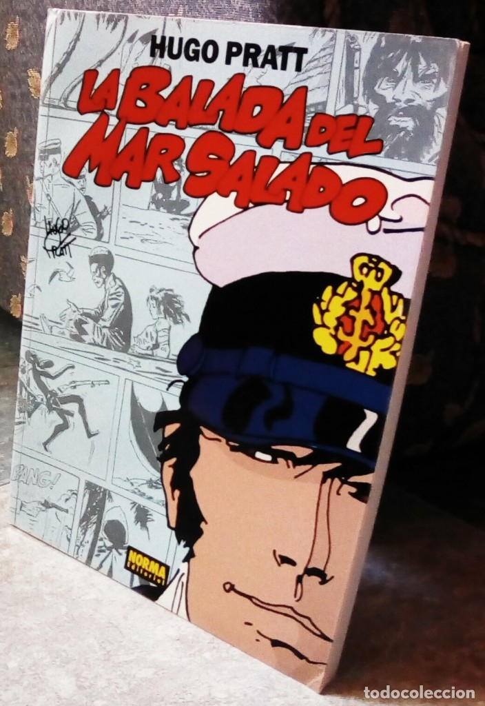 CORTO MALTÉS - LA BALADA DE MAR SALADO (EDICIÓN EN COLOR) (Tebeos y Comics - Norma - Otros)