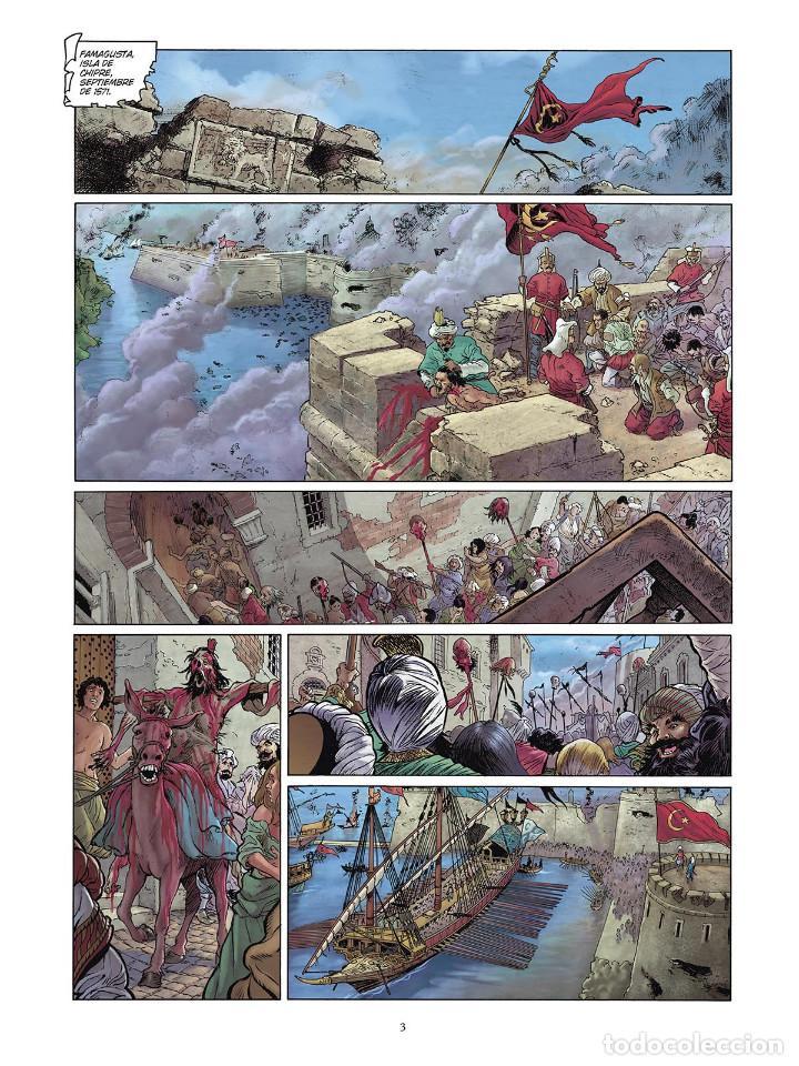 Cómics: Cómics. LAS GRANDES BATALLAS NAVALES 4. LEPANTO - Jean-Ives Delitte/Federico Nardo (Cartoné) - Foto 2 - 156505682