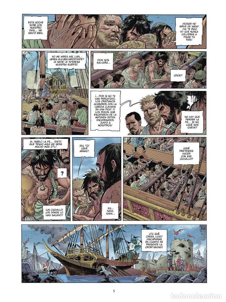 Cómics: Cómics. LAS GRANDES BATALLAS NAVALES 4. LEPANTO - Jean-Ives Delitte/Federico Nardo (Cartoné) - Foto 4 - 156505682