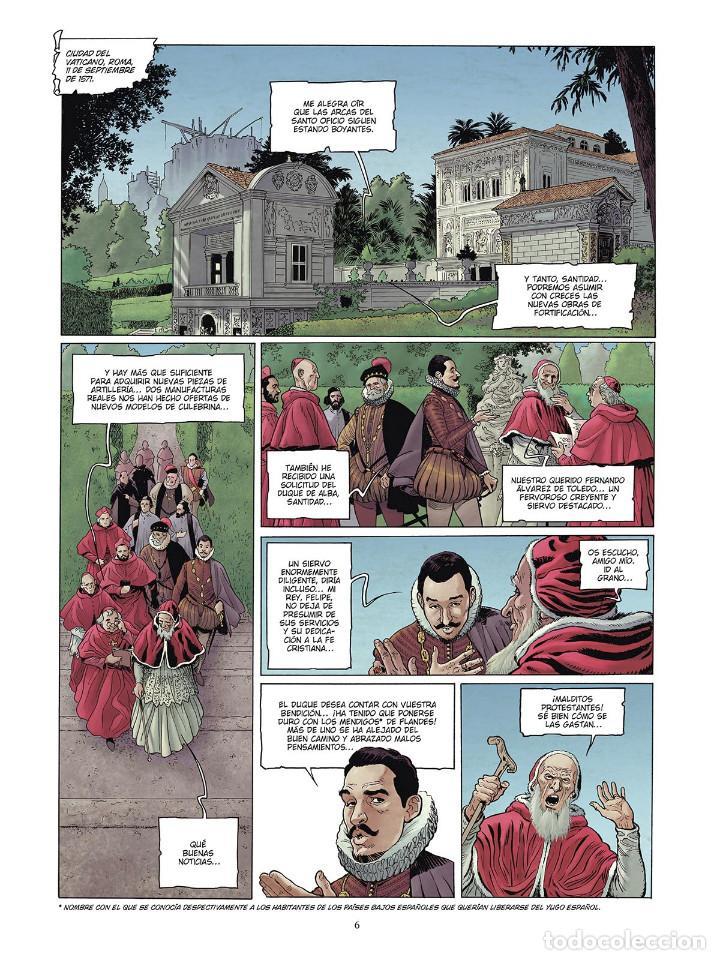 Cómics: Cómics. LAS GRANDES BATALLAS NAVALES 4. LEPANTO - Jean-Ives Delitte/Federico Nardo (Cartoné) - Foto 5 - 156505682