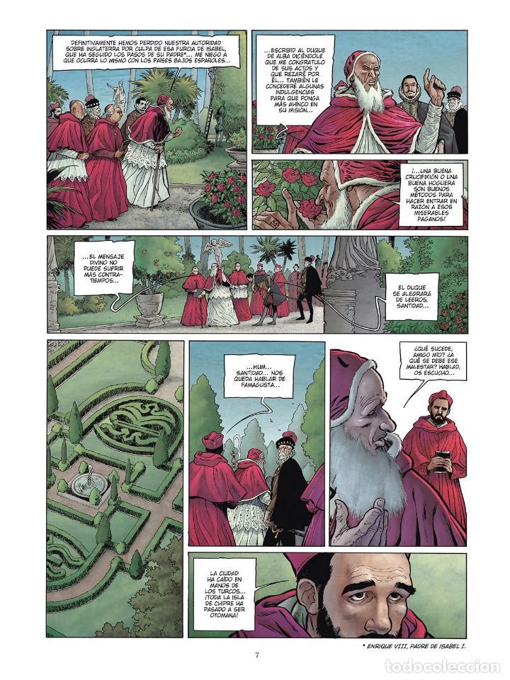 Cómics: Cómics. LAS GRANDES BATALLAS NAVALES 4. LEPANTO - Jean-Ives Delitte/Federico Nardo (Cartoné) - Foto 6 - 156505682