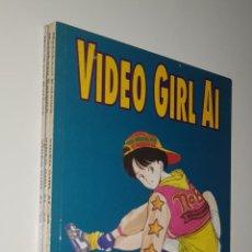 Cómics: NORMA COMICS - VIDEO GIRL AI DE MASAKAZU KATSURA LOTE DEL 38 AL 40 MANGA. Lote 156638774
