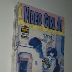 Cómics: NORMA COMICS - VIDEO GIRL AI DE MASAKAZU KATSURA LOTE DEL 13 AL 20 MANGA. Lote 156638974