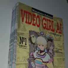 Cómics: NORMA COMICS - VIDEO GIRL AI DE MASAKAZU KATSURA LOTE DEL 1 AL 12 MANGA. Lote 156639042