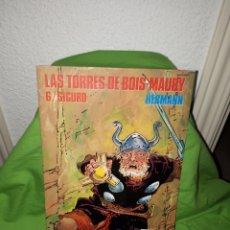 Cómics: LAS TORRES DE BOIS - MAURY EXTRA COLOR 114 NORMA EDITORIAL NUEVO. Lote 156660754