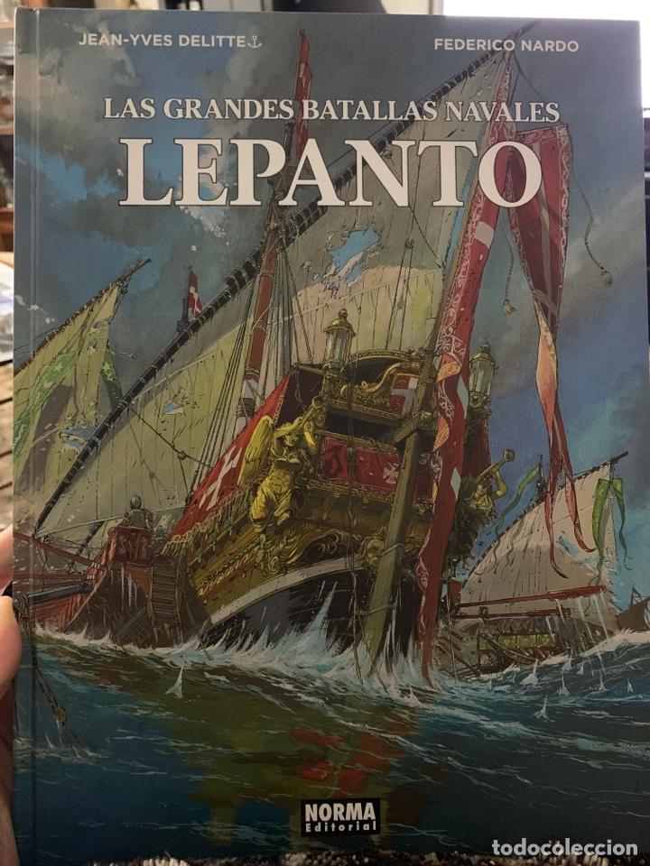 LAS GRANDES BATALLAS NAVALES LEPANTO (Tebeos y Comics - Norma - Comic Europeo)