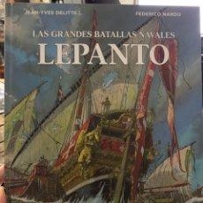 Cómics: LAS GRANDES BATALLAS NAVALES LEPANTO. Lote 156769068