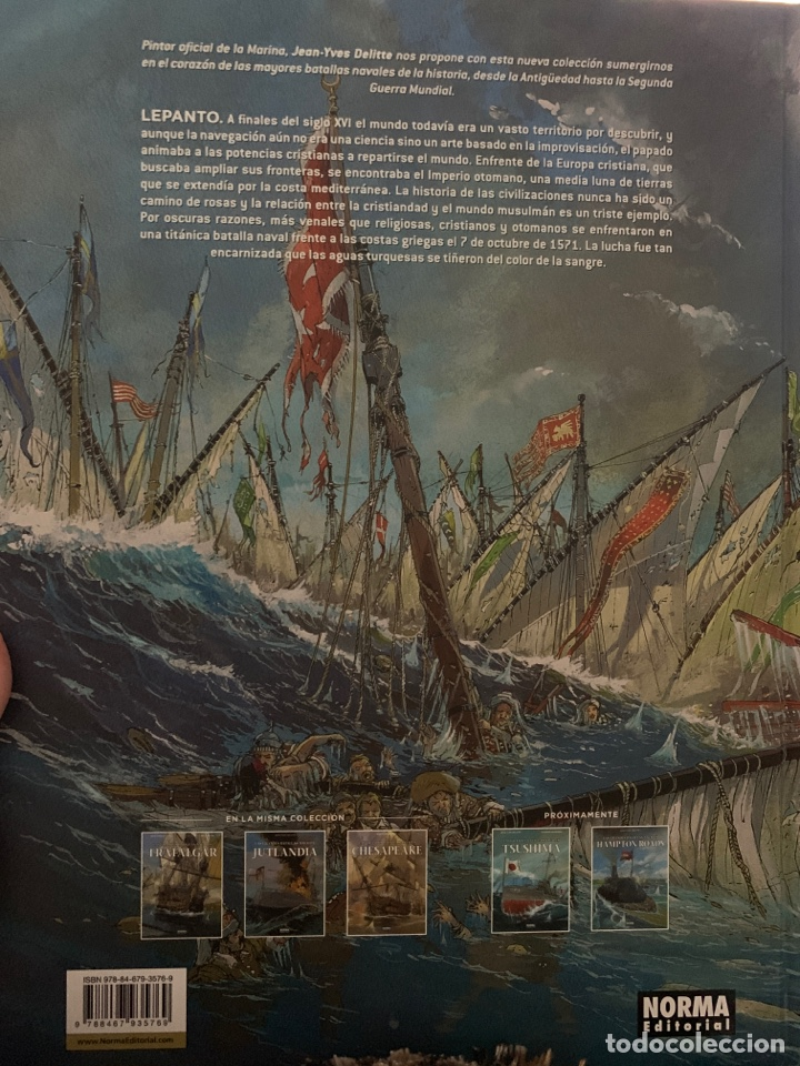 Cómics: Las grandes batallas navales Lepanto - Foto 2 - 156769068