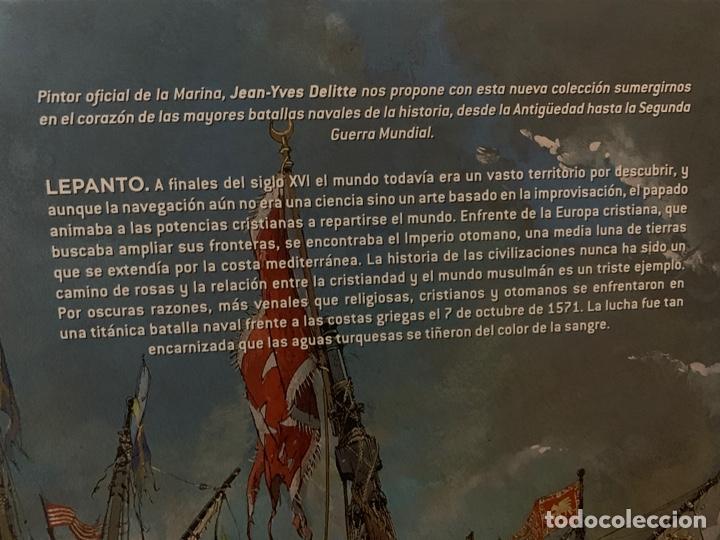 Cómics: Las grandes batallas navales Lepanto - Foto 3 - 156769068