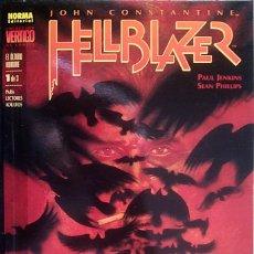 Comics : JOHN CONSTANTINE HELLBLAZER : EL ÚLTIMO HOMBRE COL·LECCIÓN COMPLETA DE 3 CÓMICS PAUL JENKINS. Lote 156813854