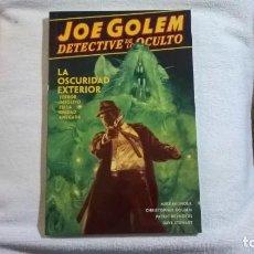 Cómics: JOE GOLEM, DETECTIVE DE LO OCULTO. TOMO 2: LA OSCURIDAD EXTERIOR. Lote 156825818