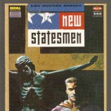 Cómics: NEW STATESMEN - LOS NUEVOS DIOSES - Nº 2 DE 5 - JOHN SMITH - NORMA - EDICIONES ZINCO 1991 - . Lote 156844214