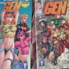 Cómics: GEN 13, NÚMEROS 1-11. Lote 155513198